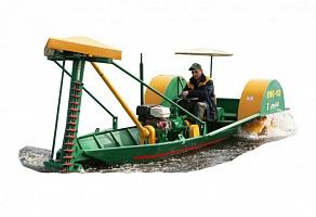 лодка косилка для уборки камыша